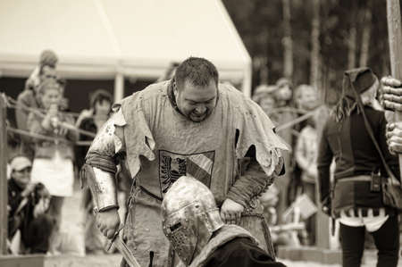 cross armed: Festival of Military History connoisseurs and lovers of the Middle Ages