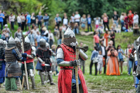 polish lithuanian: reconstruction of medieval battle