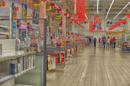 Auchan supermarket, St  Petersburg, Russia