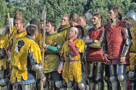 connoisseurs: in Vyborg Castle, the annual International Festival of Military History connoisseurs and lovers of the Middle Ages,  Knight Editorial