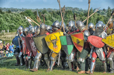 in Vyborg Castle, the annual International Festival of Military History connoisseurs and lovers of the Middle Ages,  Knight Éditoriale