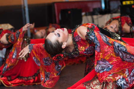 Petersburg performance dance group show flamenco ballet