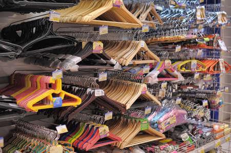 naif: hangers in store