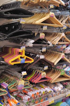 hangers in store