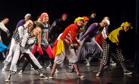 Geïdentificeerde kinderen van dansende groep