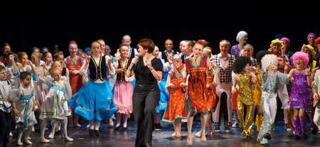 improvisation: Unidentified children from dancing group  Editorial
