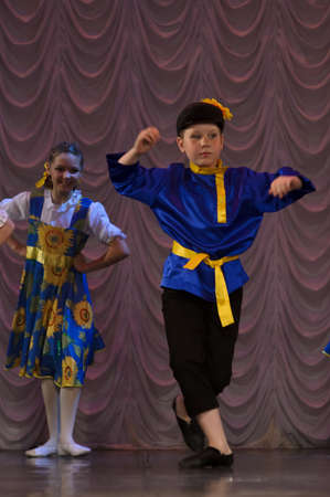Russian children s dance group