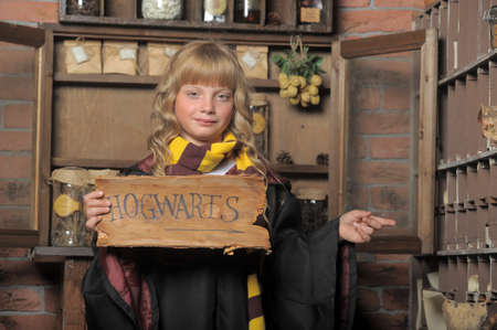 student of Hogwarts school of magic photo