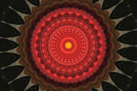 red circular ornament photo