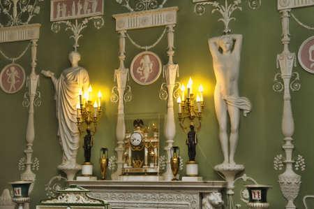 tsarskoye: Catherine Palace , Russia, St. Petersburg.