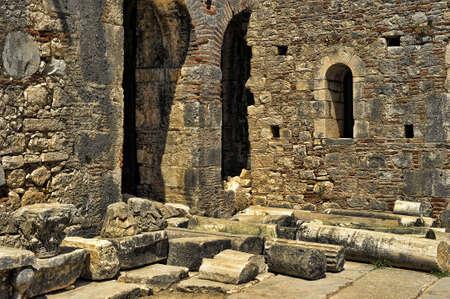 lucia: Church of St  Nicholas in Turkey, Demre  Stock Photo