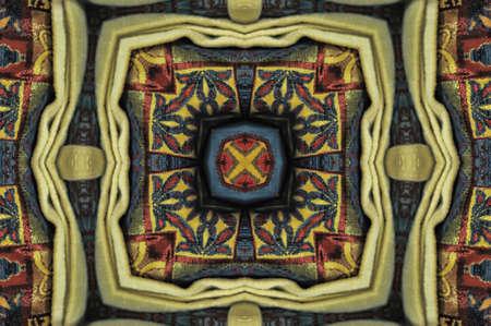 frizz pattern: Oriental ornament decoration