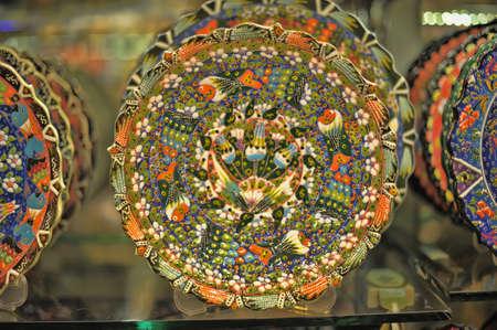 Turkish pottery