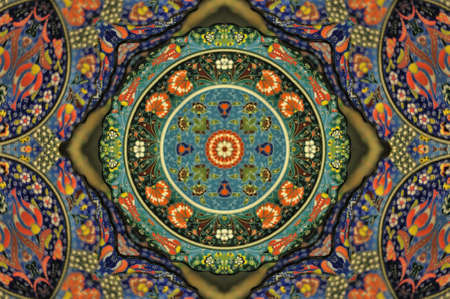 frizz: Oriental ornament decoration