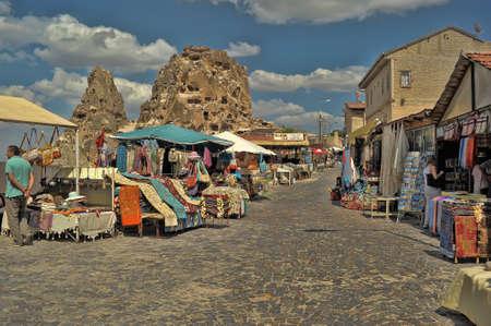 stitchcraft: Souvenir trade, Cappadocia, Turkey