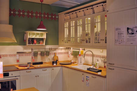 Simple and elegant kitchen