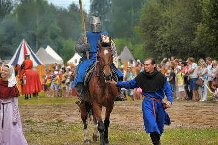 longsword: Knight with lance on horseback
