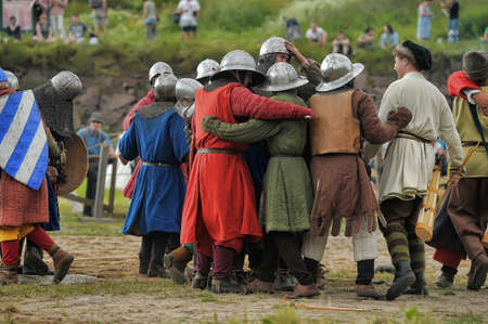 hauberk:  Medieval battle of the 13th century
