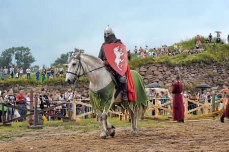 proponent: knight on horse