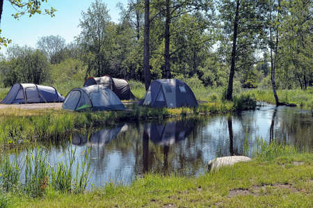 campground: Campground by the Lake