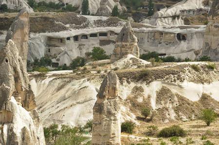 Cappadocian Valley in Central Anatolia, Turkey. photo