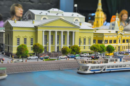 the latest models: Museum Grand Layout Russia provides a working model representing the Russian Federation, from Kaliningrad to Kamchatka.