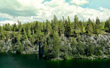 coalesce: Mountain park Ruskeala