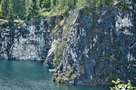 coalesce: Marble canyon landscape Stock Photo