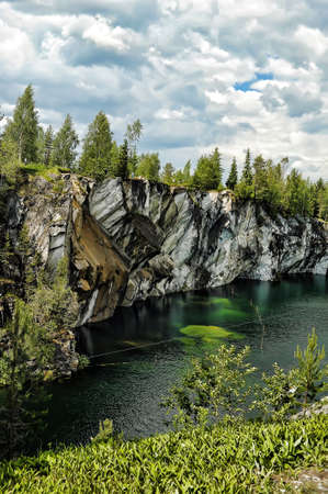 Marble canyon  A beautiful summer landscape  photo