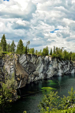 coalesce: Marble canyon  A beautiful summer landscape