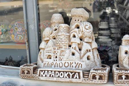 trivet: Homemade house souvenirs in Cappadocia, Turkey Stock Photo
