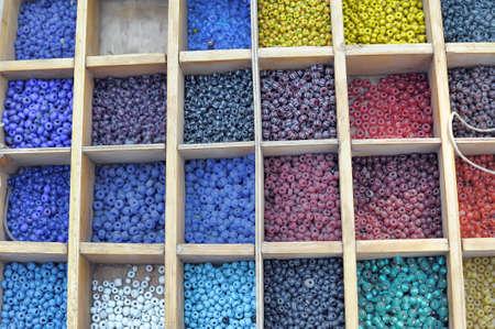 making hole: Box of Beads