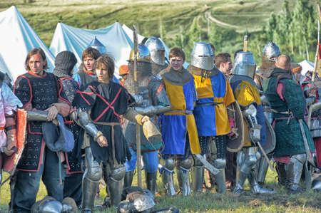 showmanship: Medieval battle