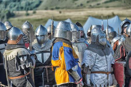 showmanship: Medieval battle