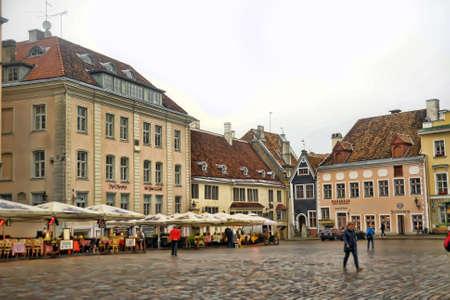 town hall square: Estonia, Tallinn Town Hall Square.