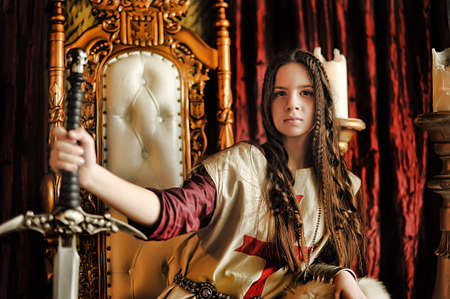 queen's theatre: Warrior Princess on the throne