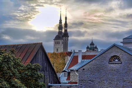 Rooftops of Tallinn photo