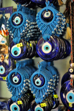 Turkey eye amulet souvenir photo