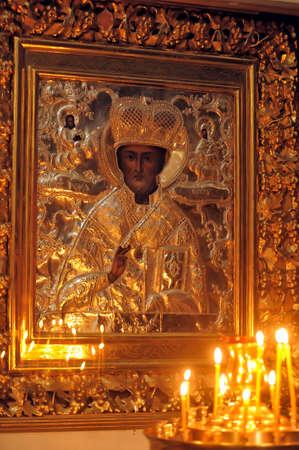 intercessor: Icon of St. Nicholas the Wonderworker
