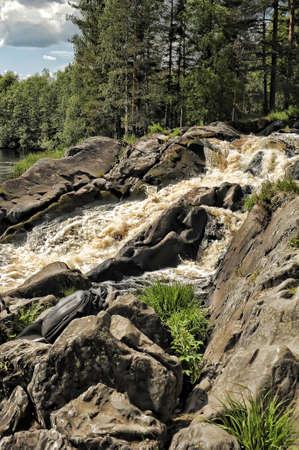 falling tide: The waterfall