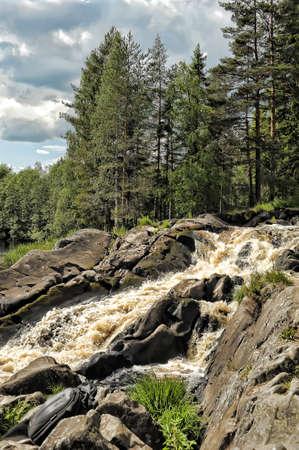 The waterfall photo