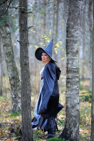 witch in the woods photo