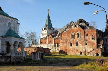 tsarskoye: Fedorovskiy town. Pushkin. (Tsarskoye Selo). Saint Petersburg. Russia.