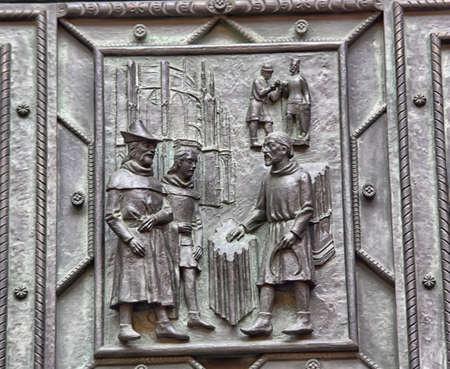 vitus: Part of door of St. Vitus Cathedral