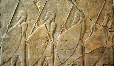 glorify: Mesopotamian Art Stock Photo