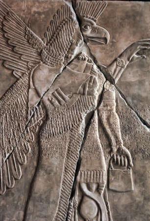 intended: Mesopotamian Art Stock Photo