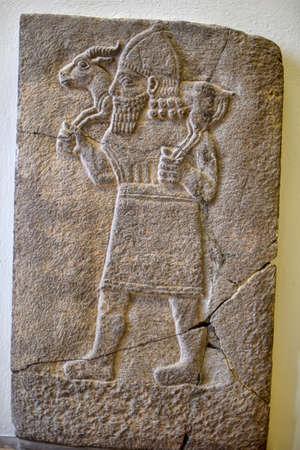 mesopotamian: Mesopotamian Art Stock Photo