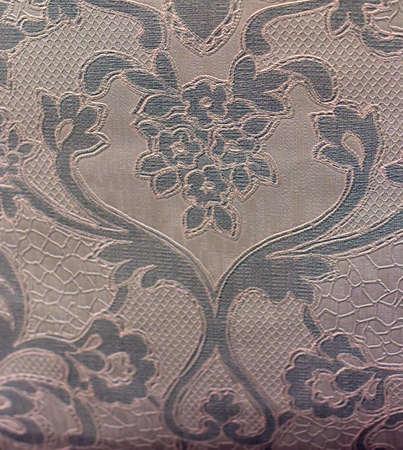 Mooie bloemen vintage behang achtergrond.