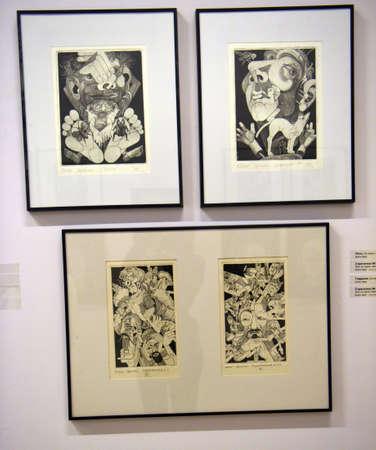 vue: Exhibition of works by St Petersburg artist - Oleg Yakhnin
