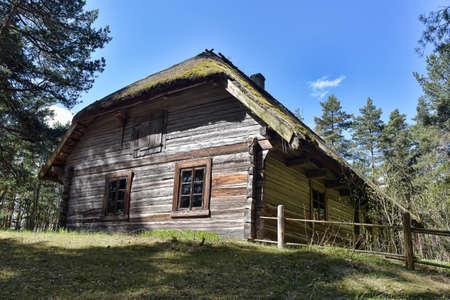 homesteads: Latvian Open-Air Ethnographic Museum in Riga
